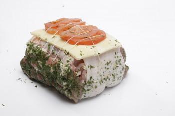 Rôti de porc filet orloff
