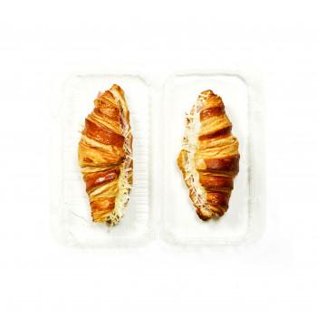 Croissants au jambon x2