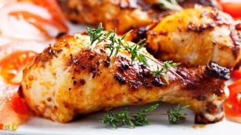 Pilons de poulet marinés x5